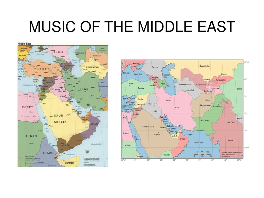 music of the middle east l.