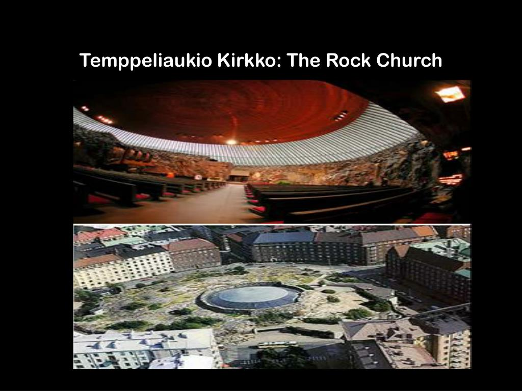 Temppeliaukio Kirkko: The Rock Church