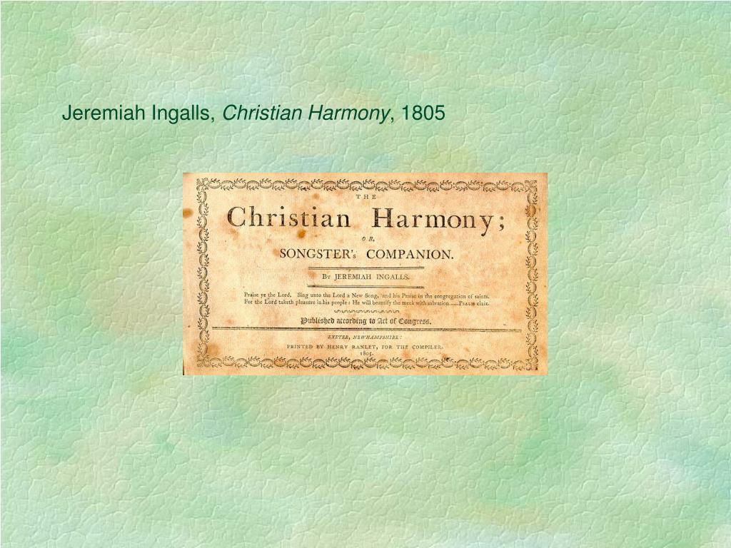 Jeremiah Ingalls,