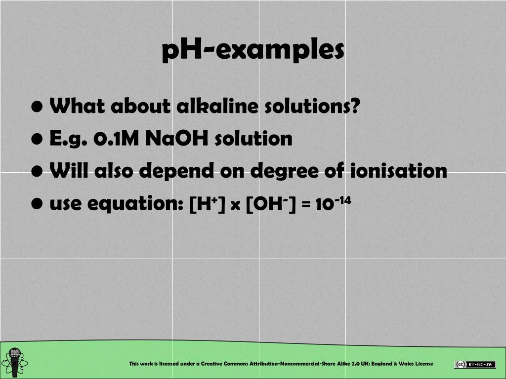 pH-examples