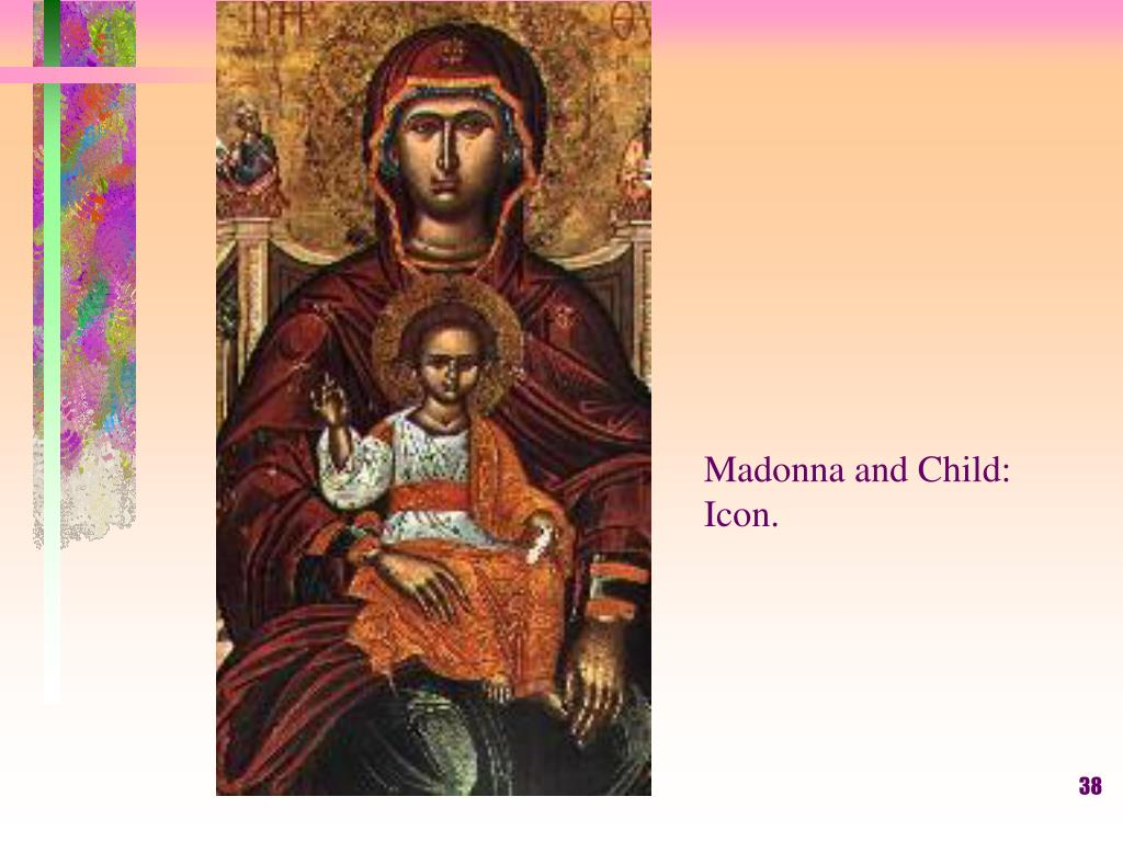 Madonna and Child: Icon.