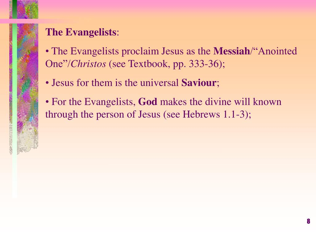 The Evangelists