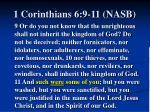 1 corinthians 6 9 11 nasb