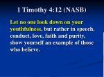 1 timothy 4 12 nasb