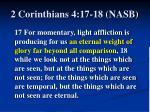 2 corinthians 4 17 18 nasb