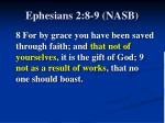 ephesians 2 8 9 nasb