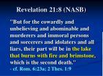 revelation 21 8 nasb