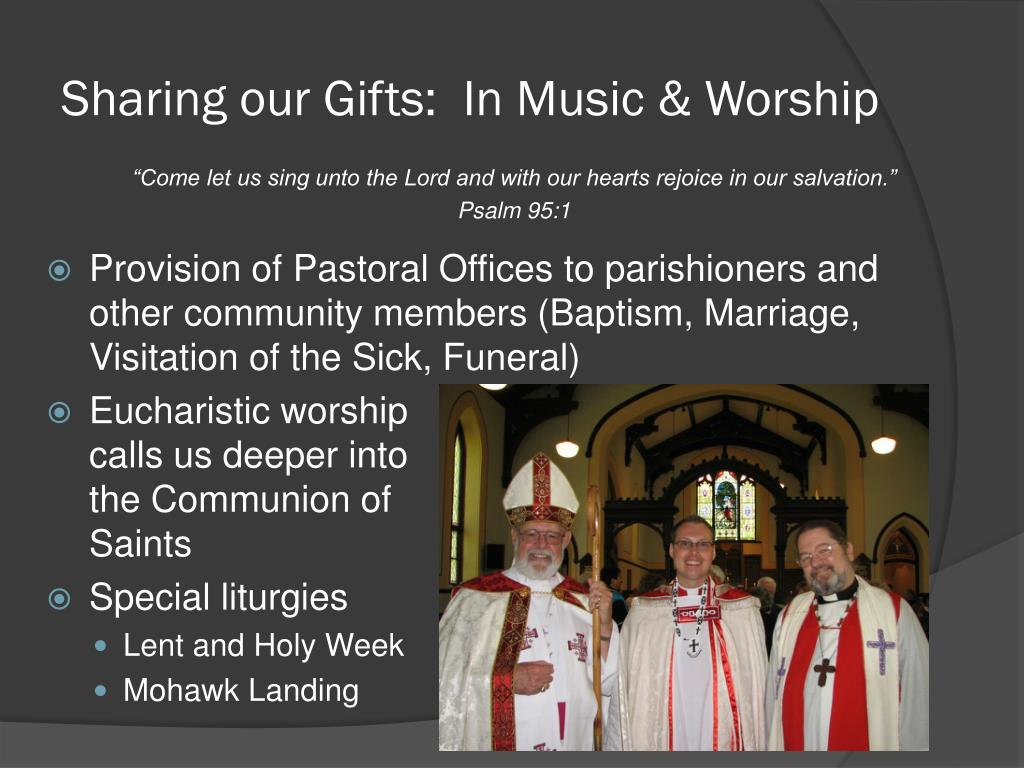 Sharing our Gifts:  In Music & Worship