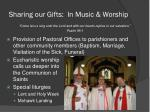 sharing our gifts in music worship23