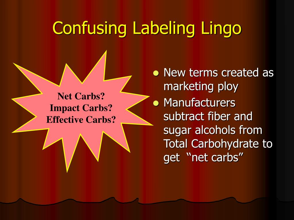 Confusing Labeling Lingo