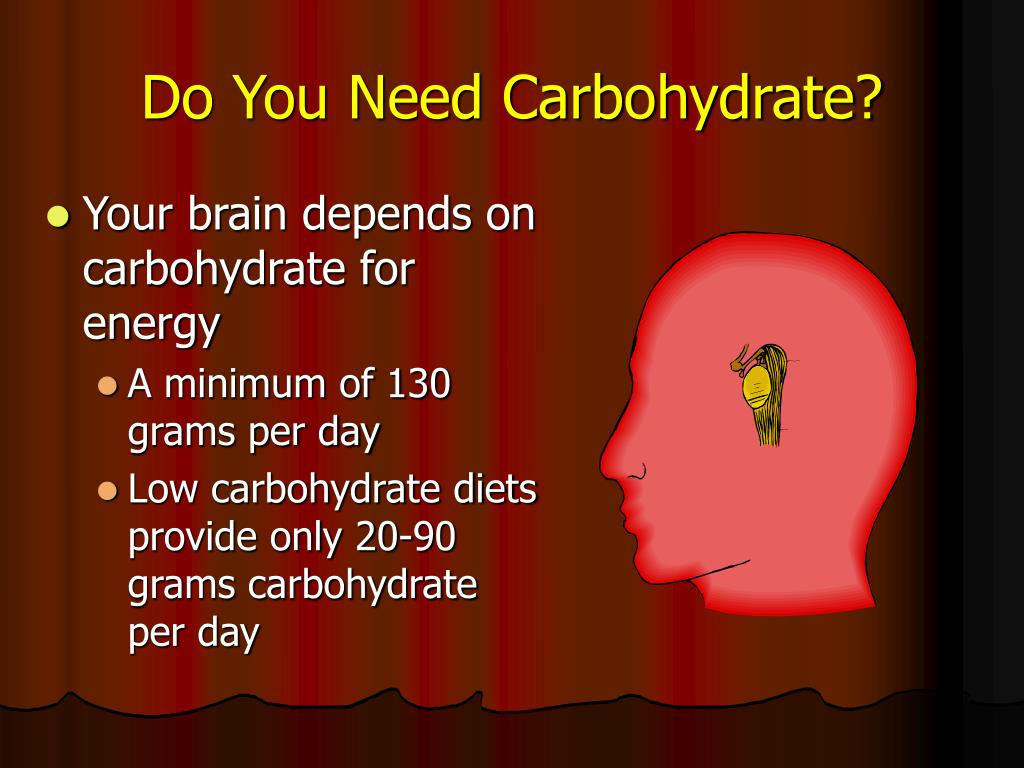 Do You Need Carbohydrate?