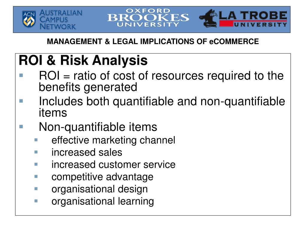 ROI & Risk Analysis