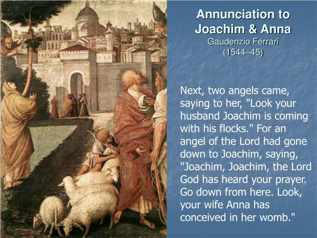Annunciation to Joachim & Anna
