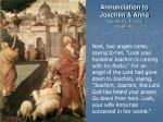 annunciation to joachim anna gaudenzio ferrari 1544 45