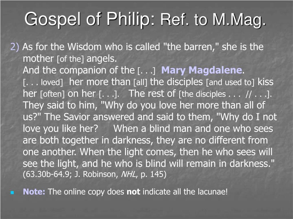 Gospel of Philip: