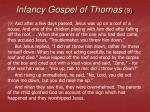 infancy gospel of thomas 9