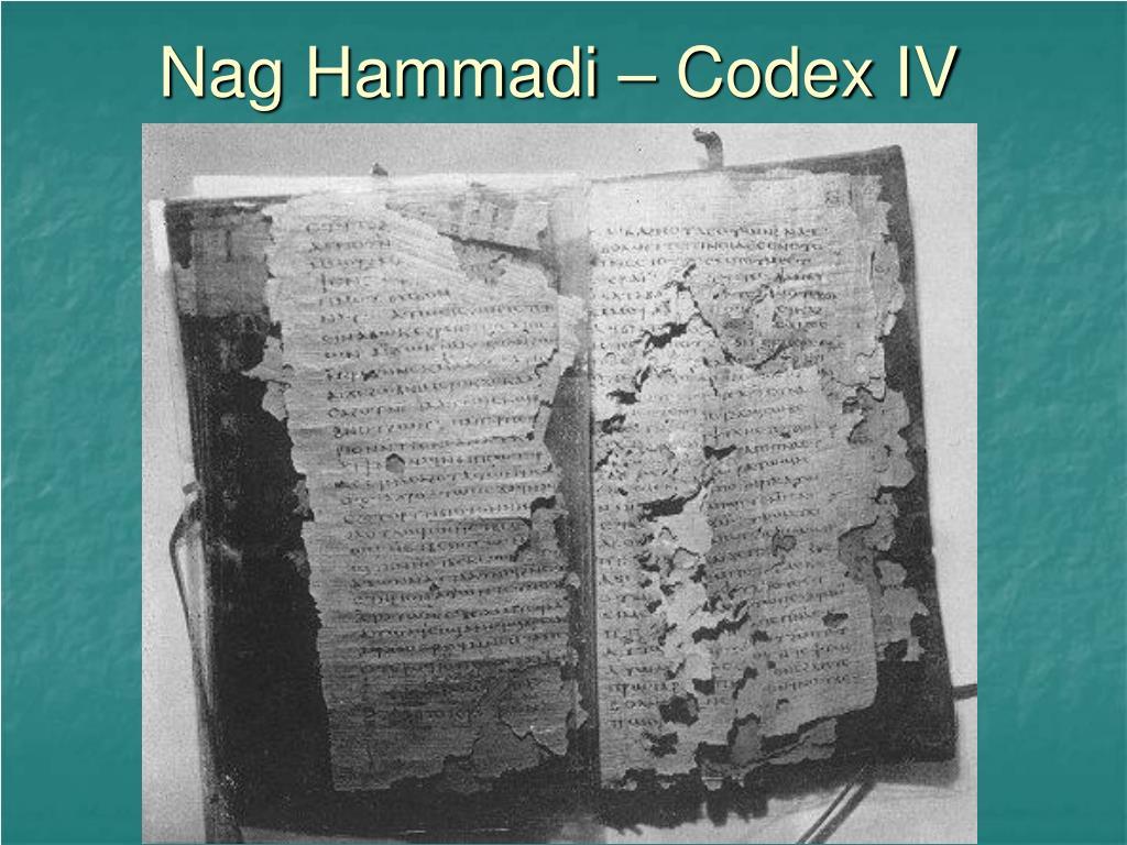 Nag Hammadi – Codex IV