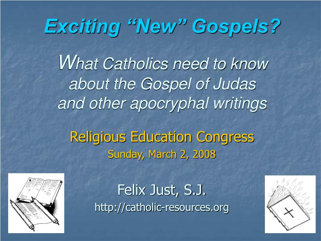 """Exciting """"New"""" Gospels?"""