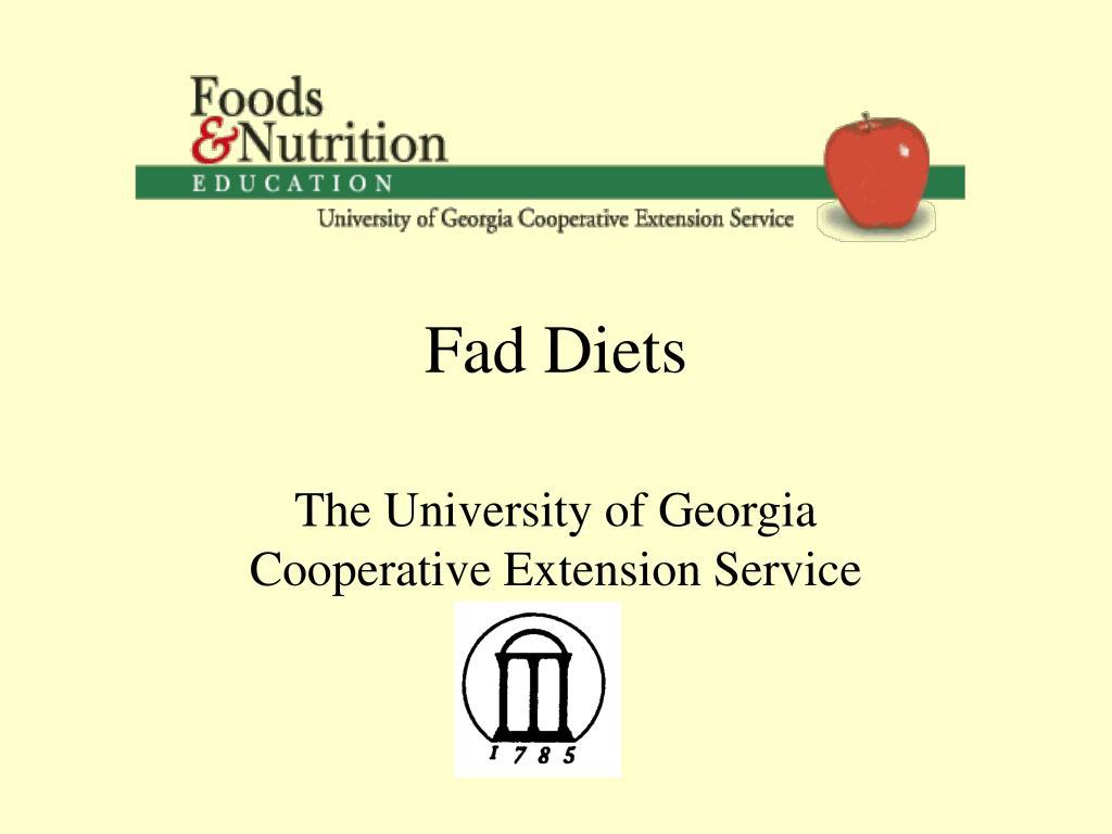 fad diets l.