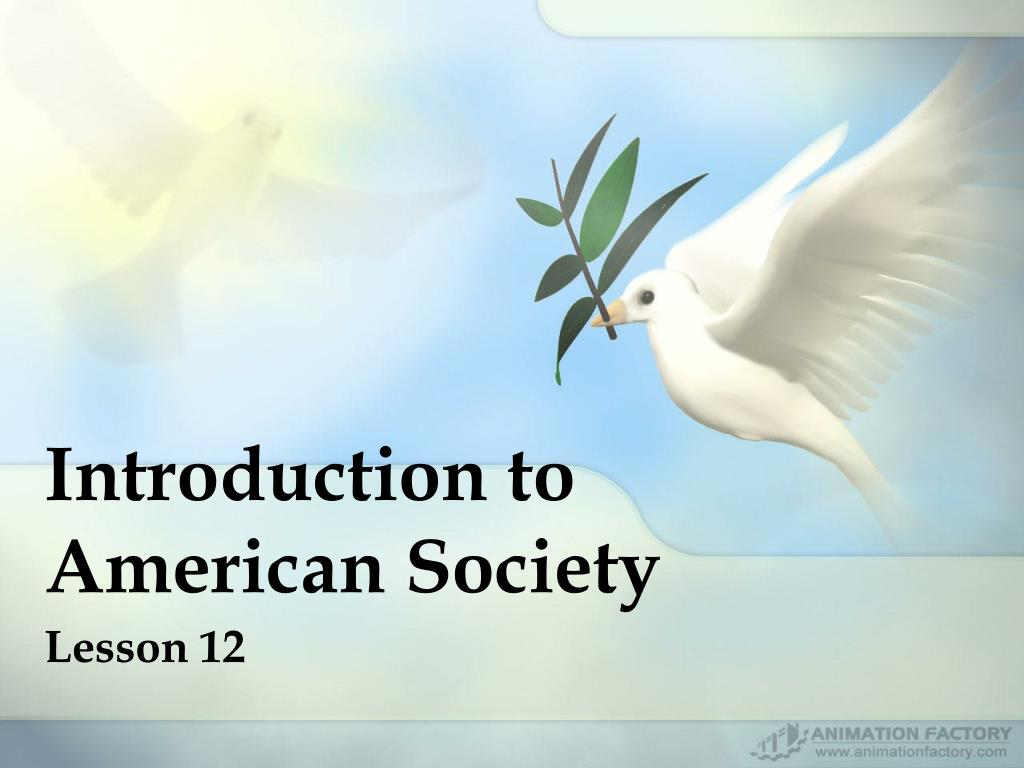 introduction to american society l.