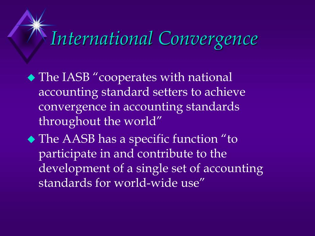 harmonization of accounting standards through internationalization What are the disadvantages of harmonizing financial statements what are the disadvantages of harmonizing financial national accounting standards are.