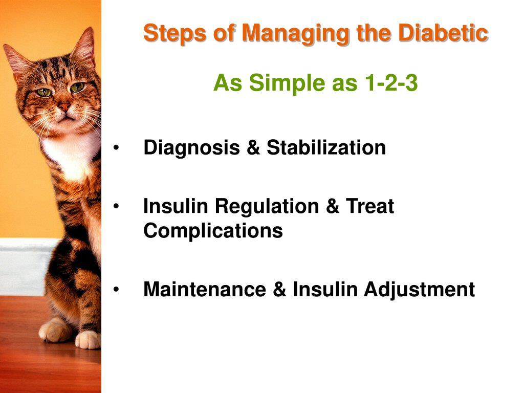 Steps of Managing the Diabetic