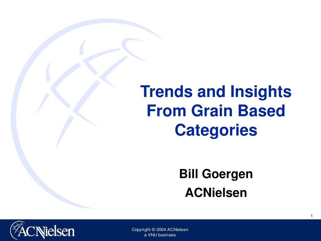 trends and insights from grain based categories l.