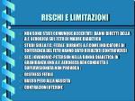rischi e limitazioni7