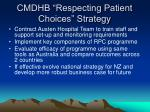 cmdhb respecting patient choices strategy25