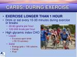 carbs during exercise37