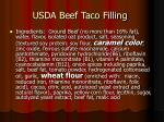 usda beef taco filling