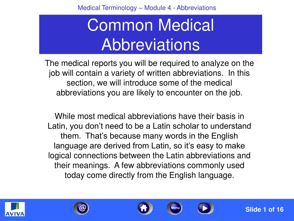 Tid medical abbreviation times