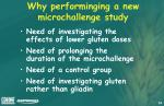 why performinging a new microchallenge study