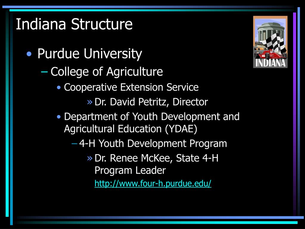 Indiana Structure