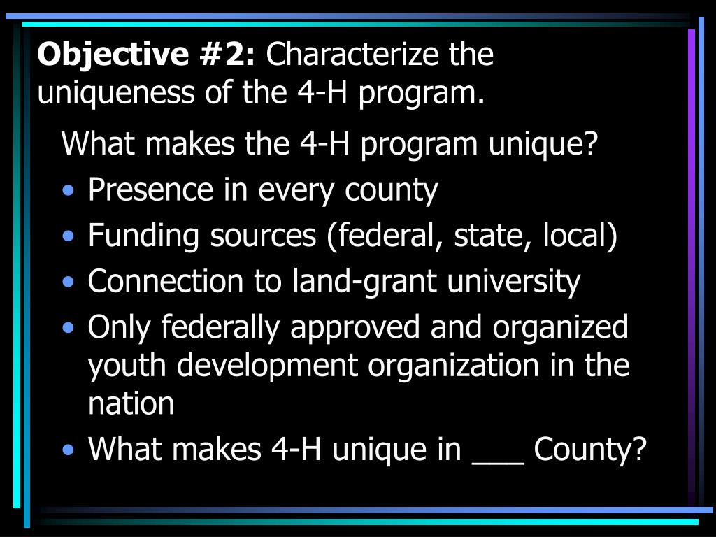Objective #2: