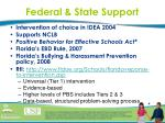 federal state support