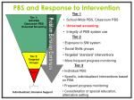 pbs and response to intervention