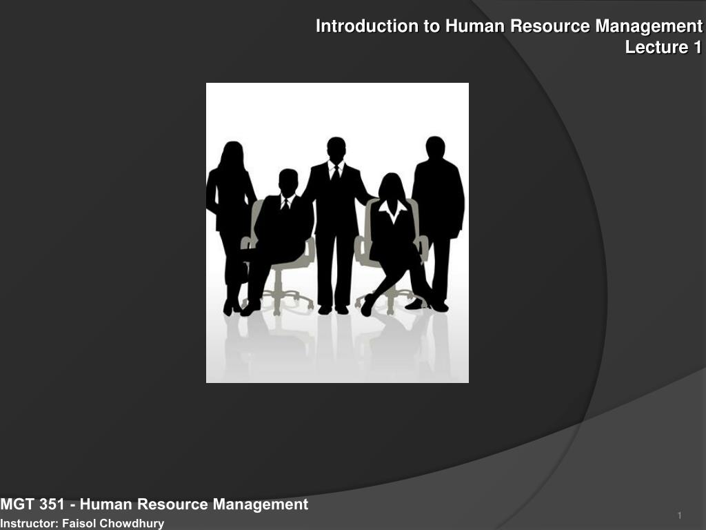 intro to human resources Introduction to hr policy & procedure manual the hr policy and procedure manual applies to nonacademic staff 1 hired through the office of human resources staff members are at-will employees as such, this manual is not intended to be, and should not be interpreted as, a contract between the university and any employee 2.