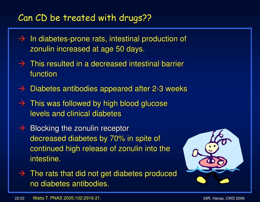 Can CD be treated with drugs??