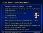 celiac disease the clinical reality