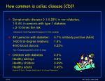 how common is celiac disease cd