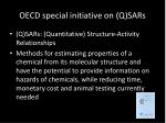 oecd special initiative on q sars