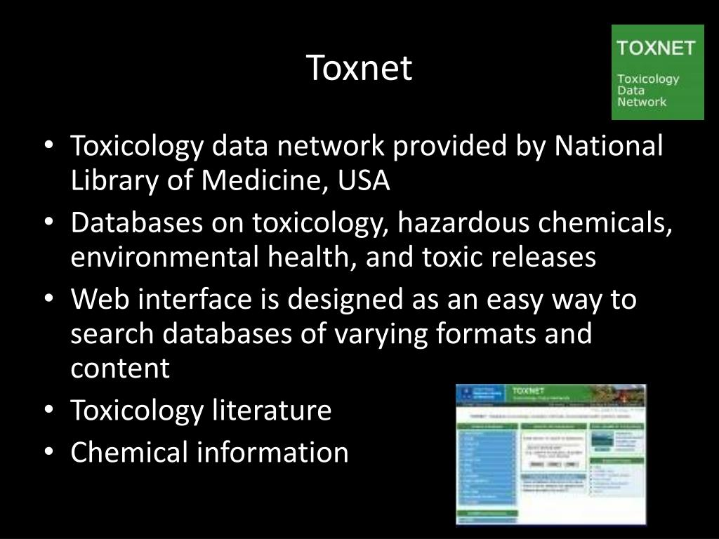 Toxnet