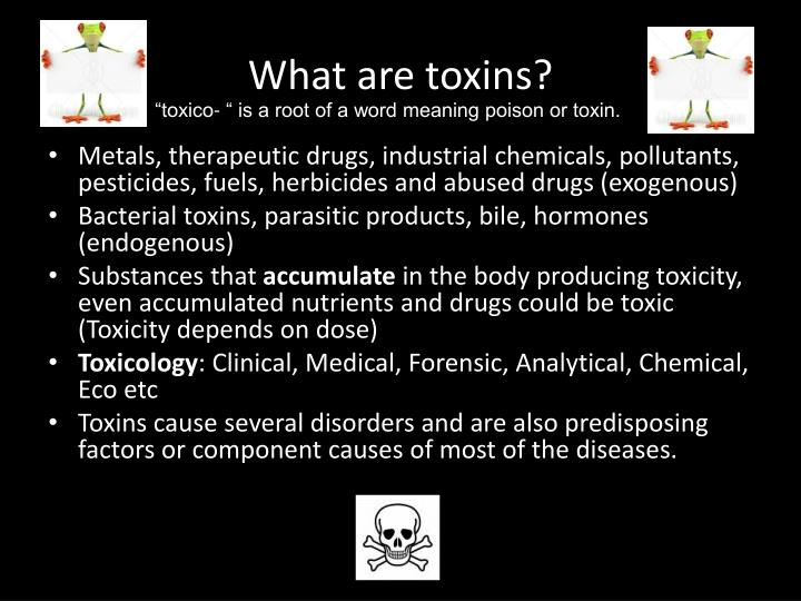 What are toxins