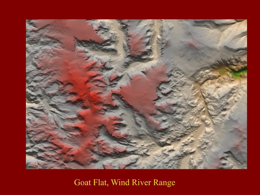Goat Flat, Wind River Range