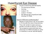 hyperthyroid eye disease30