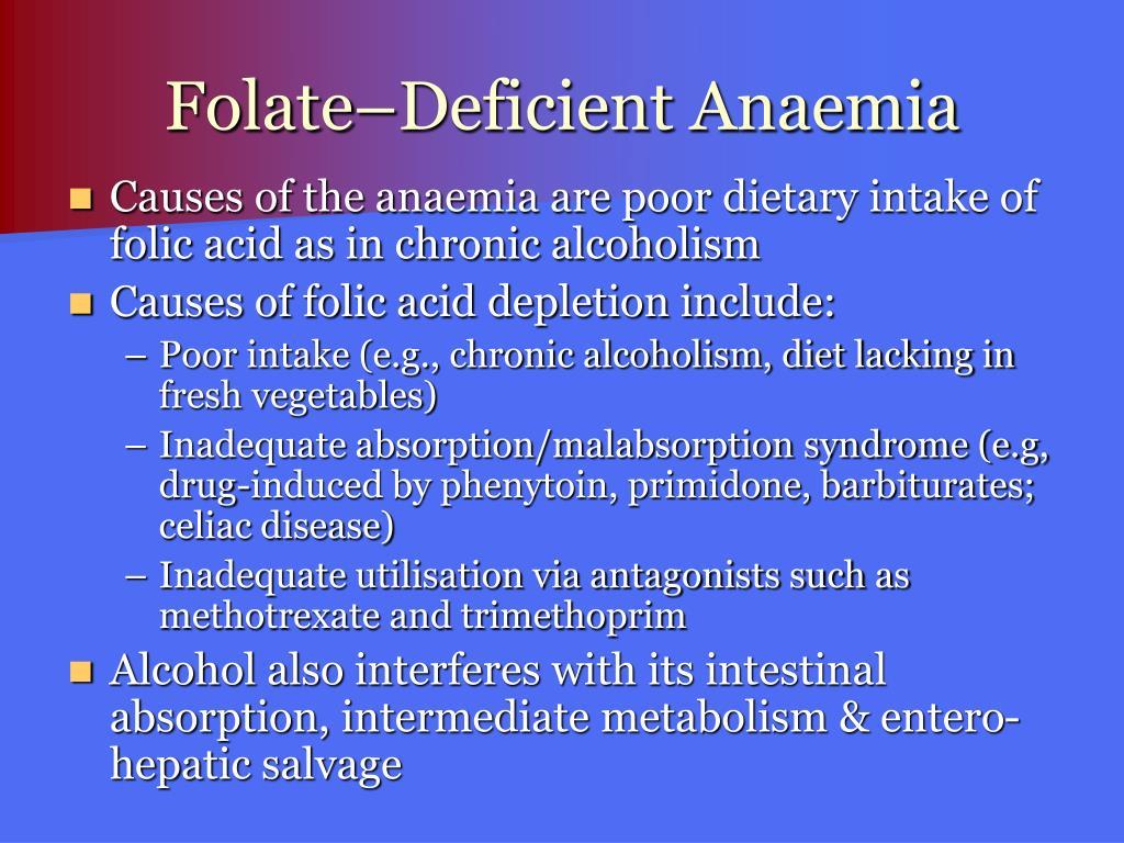 Folate–Deficient Anaemia
