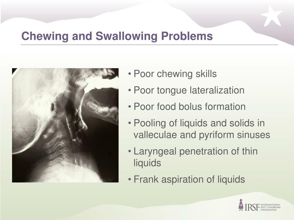Chewing and Swallowing Problems