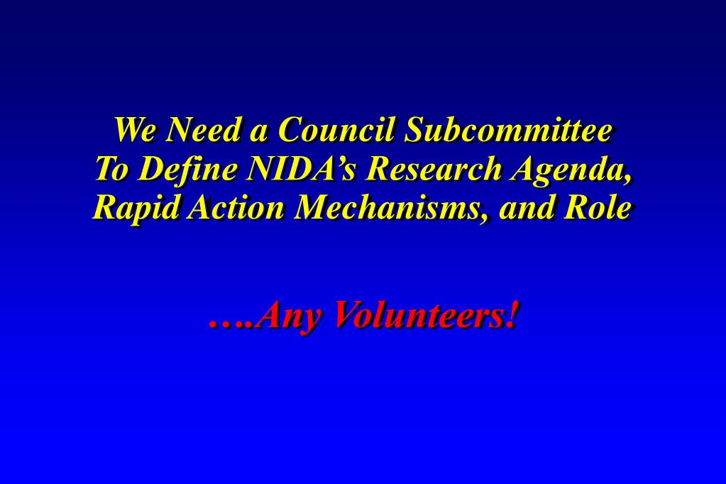 We Need a Council Subcommittee