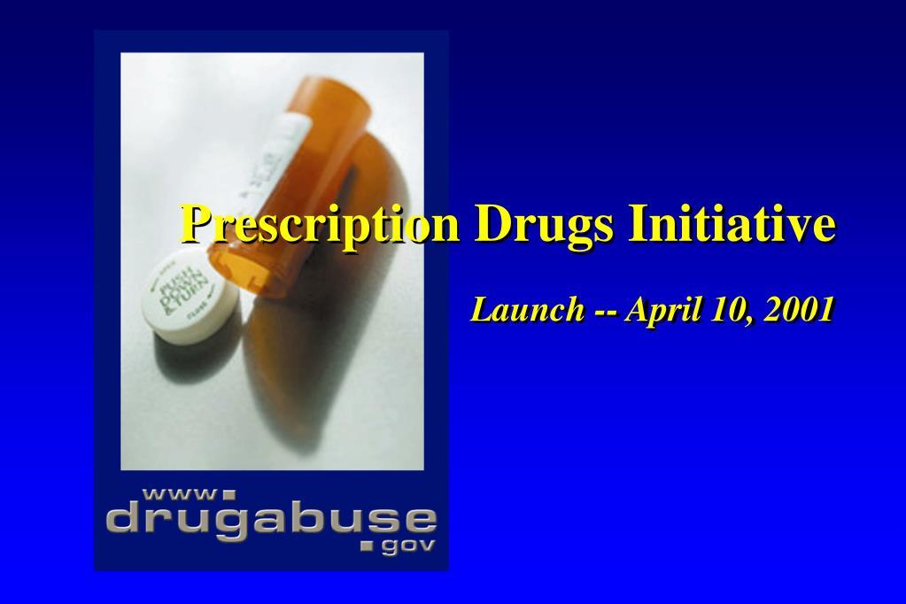 Prescription Drugs Initiative